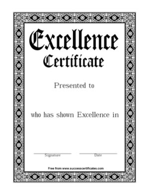 excellence10001