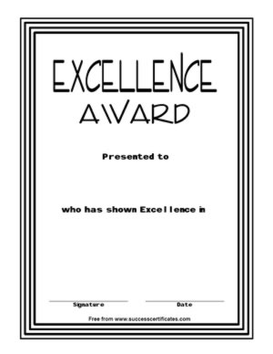 excellence20001