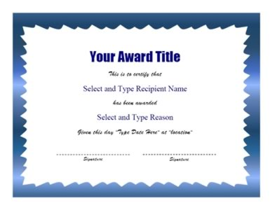 Green Zigzag Border Certificate Template Search Results