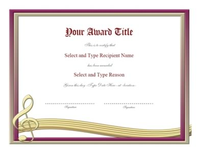 Silver And Maroon Frame Blank Certificate Template