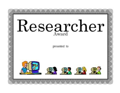 Award for Research - Two