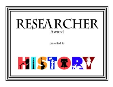 Award for Research - Four