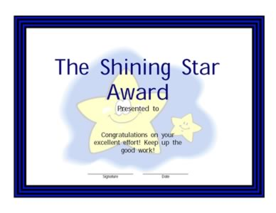 shining star award banner pictures to pin on pinterest thepinsta. Black Bedroom Furniture Sets. Home Design Ideas